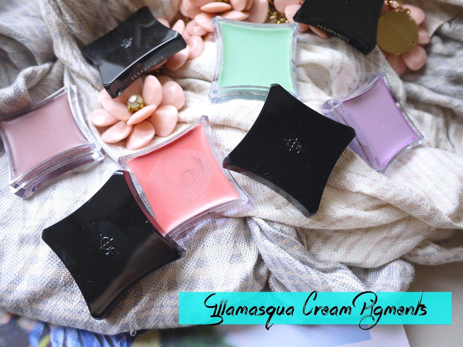 illamasqua cream pigments deliurm bedaub androgen dab