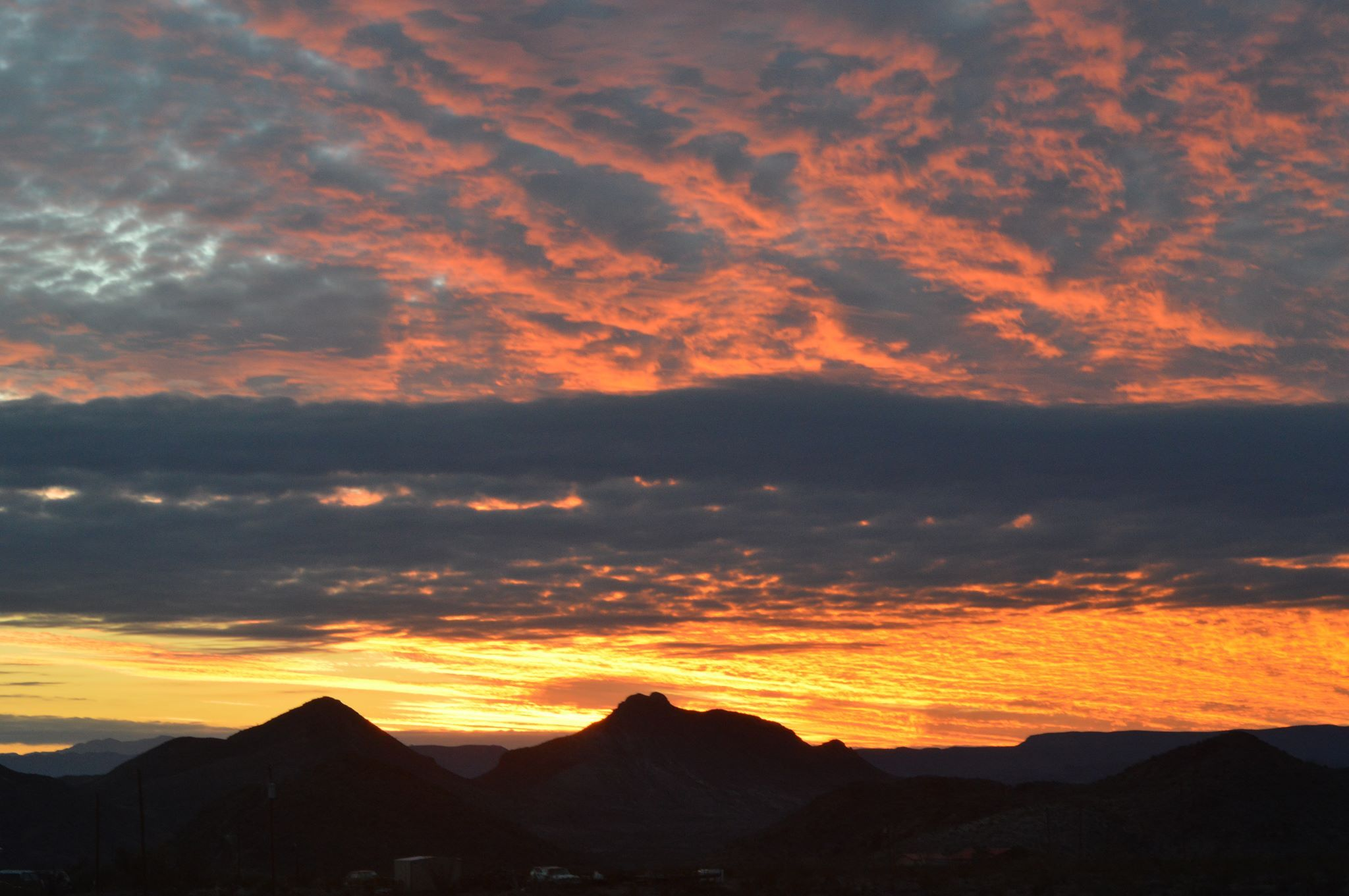 Terlingua sunset by Anne Roberts