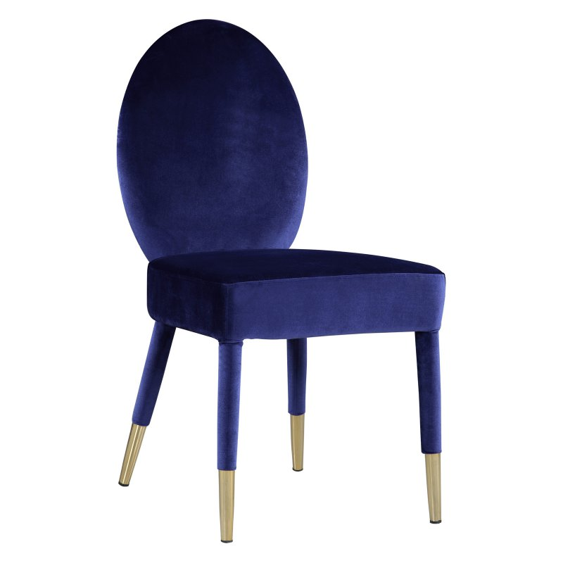 Cynthia Rowley Teal Accent Chair: Chic Home Jerett Velvet Dining Side Chair