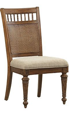 Havertys   Pelican Bay Cane Dining Chair