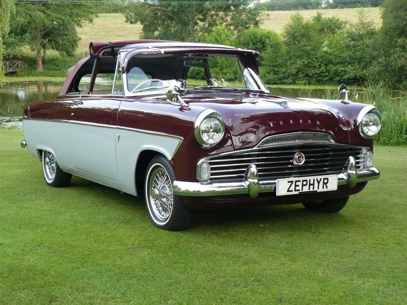 1951 1956 Ford Zephyr Classic British Ford Cars For Sale In Usa