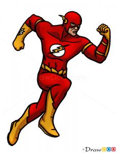 How To Draw Flash Superheroes Obnovleno April 26 2016 Avtorom Flash Drawing Superhero The Flash Cartoon