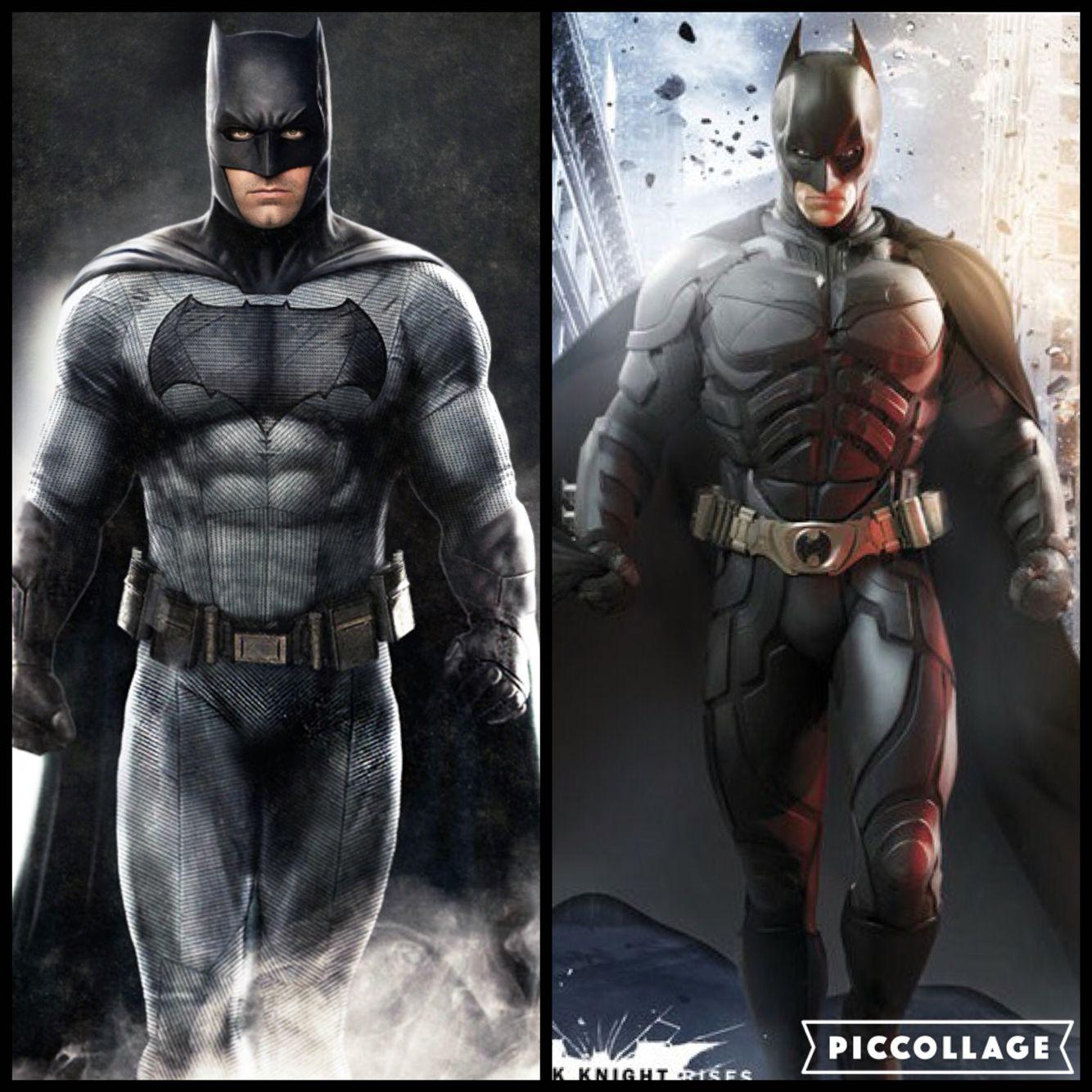 Batman Who Played Him Better Ben Affleck Or Christian Bale Batman Batman Universe Superhero