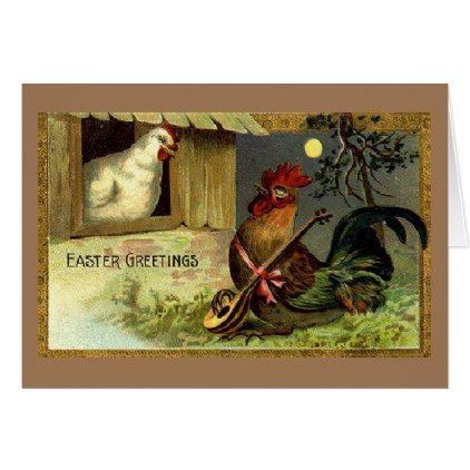 Vintage easter love serenade card vintage easter love serenade card couple love gifts present idea negle Images