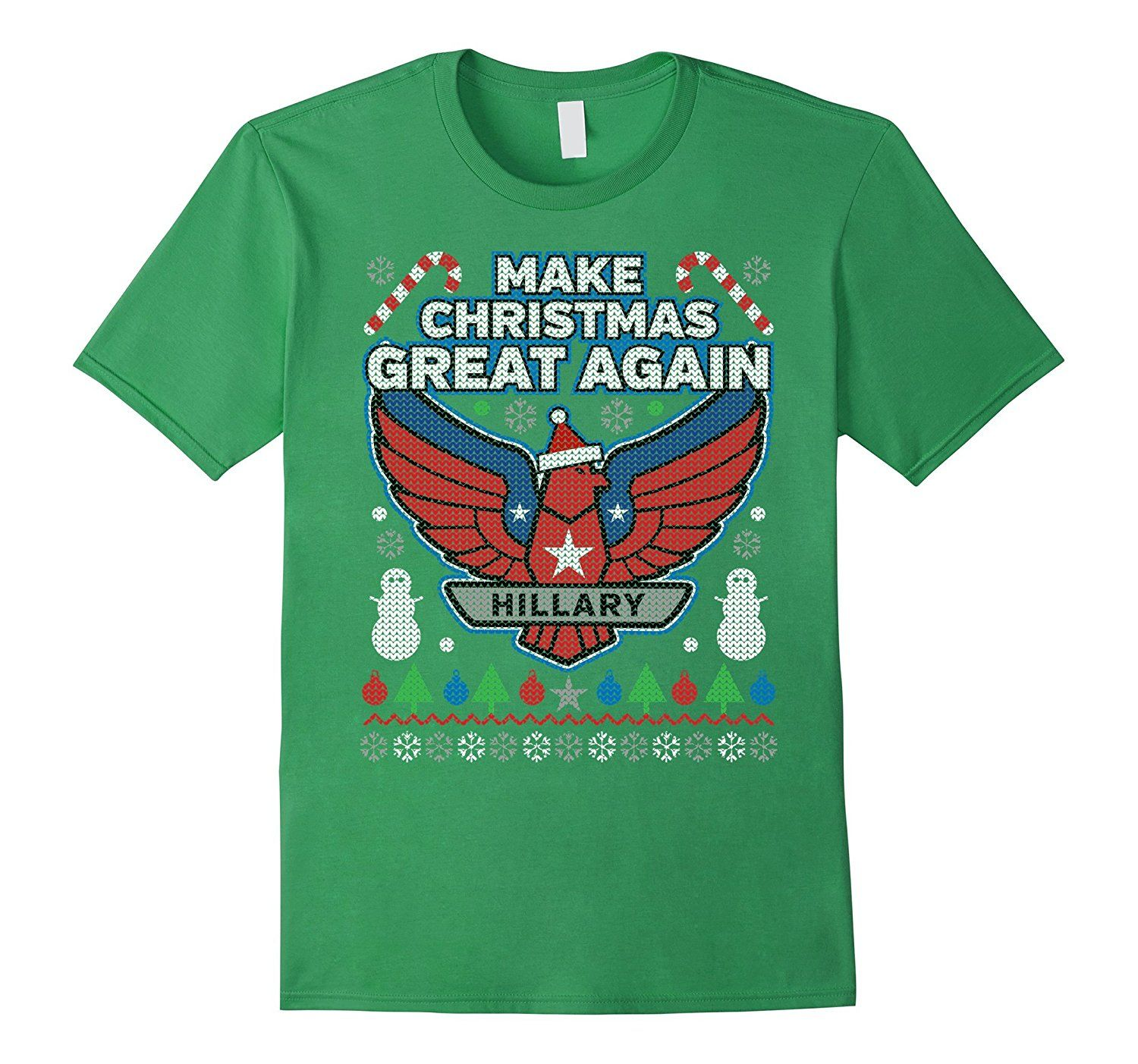 Host a Hillary Clinton ugly Christmas sweaters party in your ...