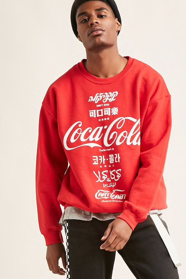 2fd3e1e8 Coca-Cola Graphic Sweatshirt | Styling at Forever21 in 2019 | Urban ...