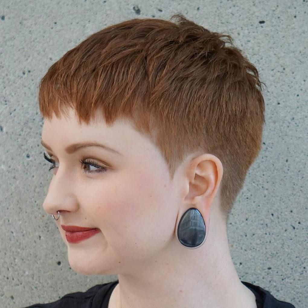 bold and beautiful short spiky haircuts for women shorts