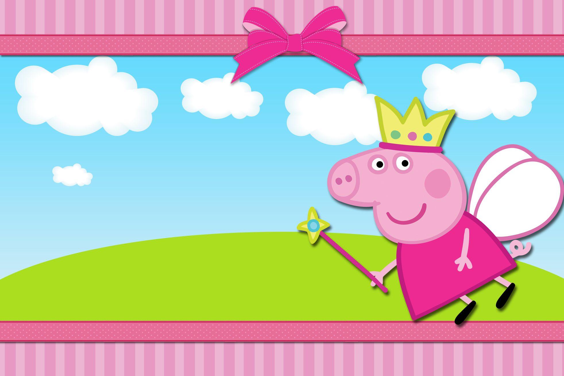 kit digital completo peppa pig princesa pig party pig birthday