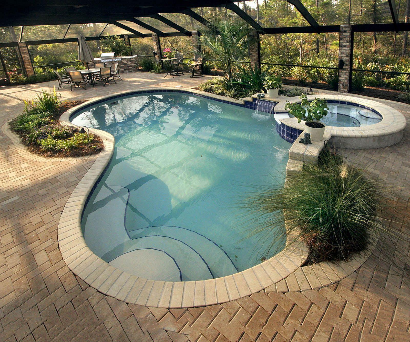 25 Fabulous Backyard Swimming Pool Ideas For Cozy Summer ...