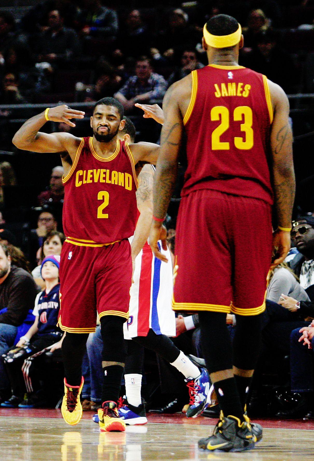 Kyrie Irving vs. Detroit Pistons | 1.27.15. Nike ShoxNike ...