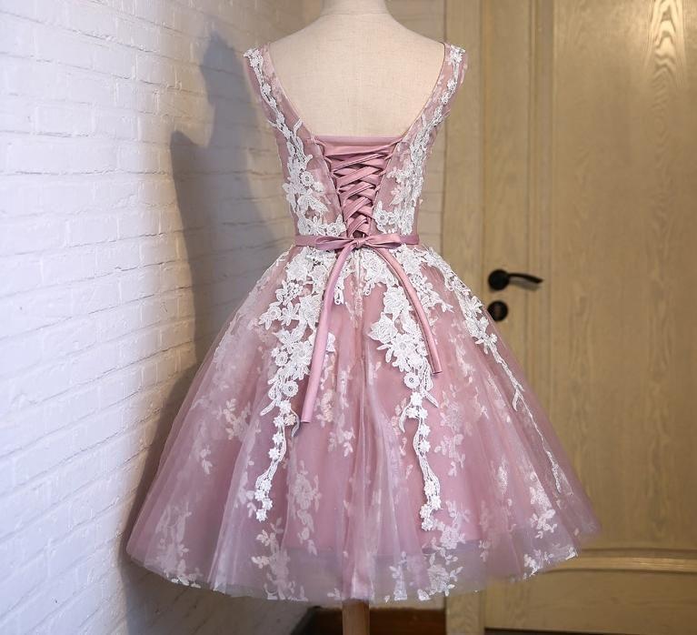 Luksusowa Suknia Sznurowana Koronka Tiul Wesele Us 6616365287 Oficjalne Archiwum Allegro Homecoming Dresses Tulle Homecoming Dress Homecoming Dresses Short