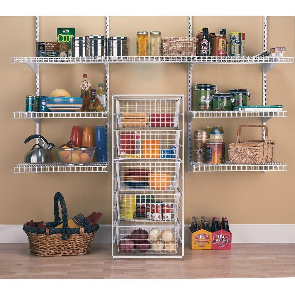 Good ClosetMaid 17 In. Drawer Kit With 5 Wire Baskets 6202   The Home Depot