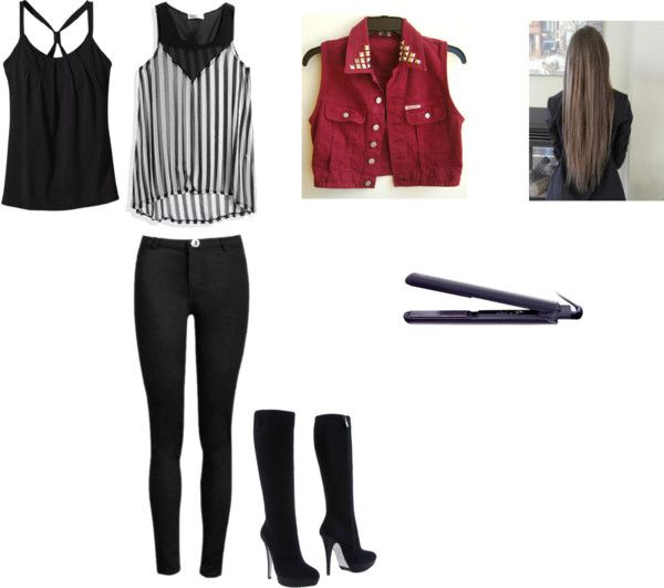 """rock outfit"" by shamijah on Polyvore"