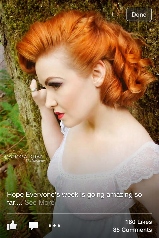 ginger hair adore wedding