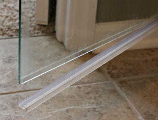 Glass Shower Door, Glass Shower Door Rubber Seal Strip