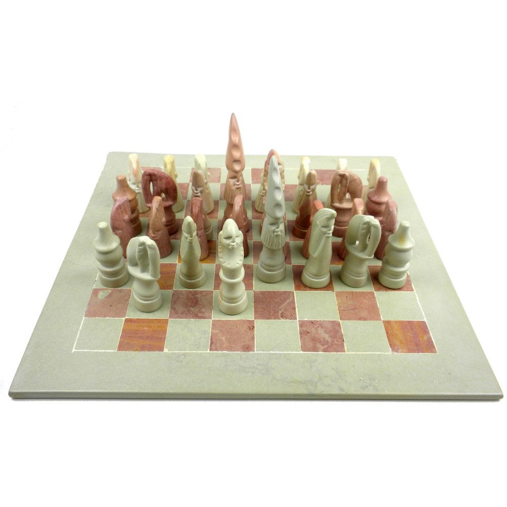 Decorative Chess Sets Handmade Decorative 14Inch Maasai Chess Set Kenyaglobal