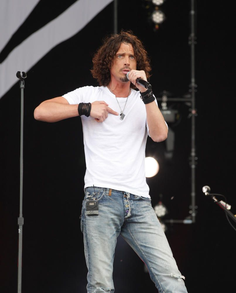 Chris Cornell live Pink pop my favorite video of chris...teach me how to live""