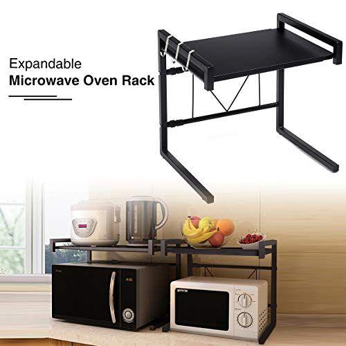 cuisinemeubles tables roulantes la longueur du plateau pour micro ondes est réglable de 4 in on kitchen organization microwave id=86375