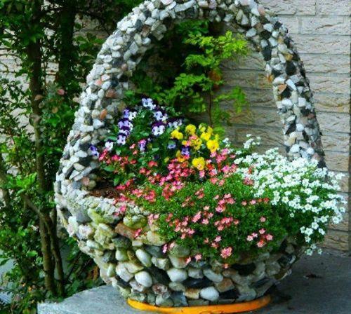 Kreative Blumentöpfe - 11 coole Ideen für die Dekoration Ihrer