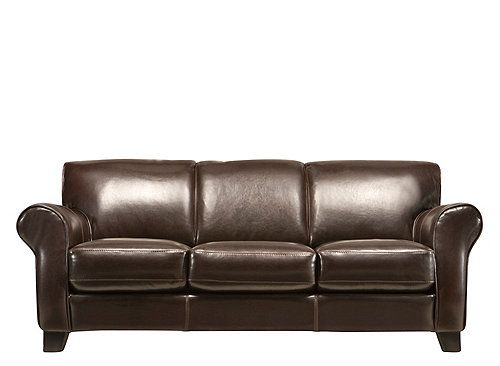 Bellini Leather Sofa Sofas Raymour And Flanigan Furniture Simple