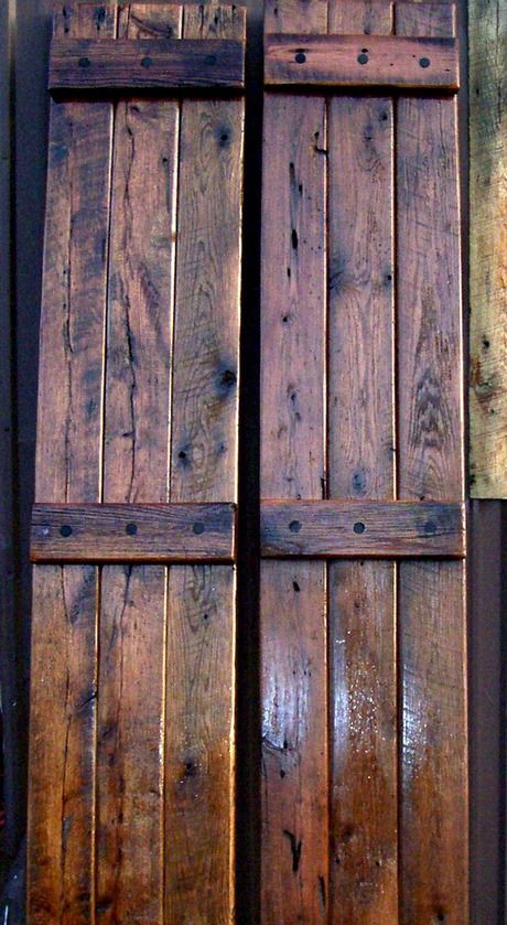 Unique Exterior Shutters | ... : Exterior Reclaimed Oak ...