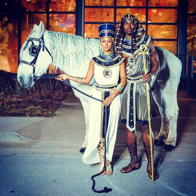 OKC/Egypt Feel the Thunder Pinterest Thunder and Serge ibaka - celebrity couples halloween costume ideas
