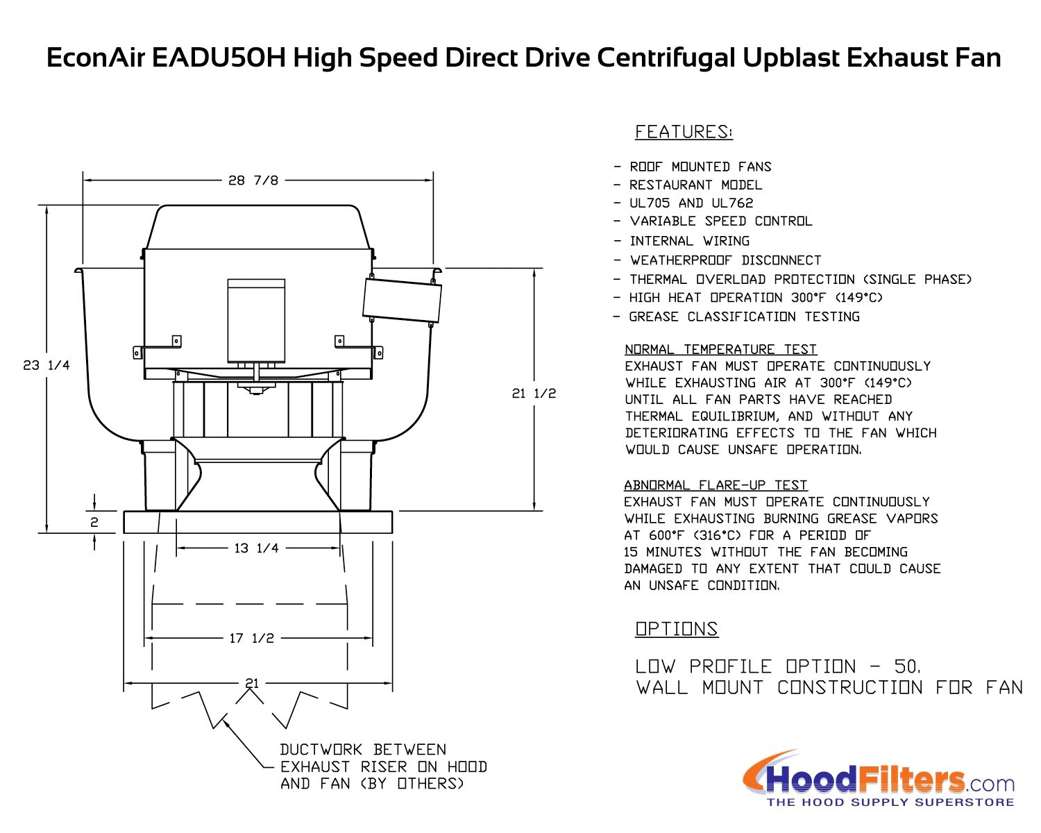Upblast Exhaust Fan Diagram Tools