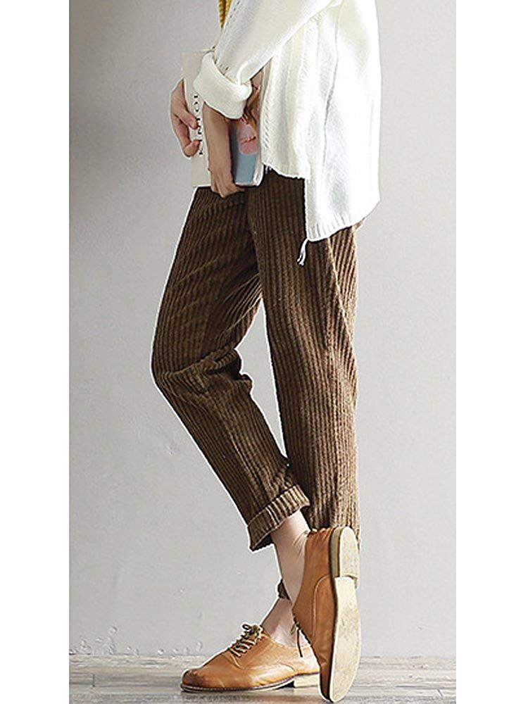 UK-Shop hochwertiges Design neue sorten Damen Cordhose | Braun | OCHENTA | ab 29,17€ bei Amazon ...