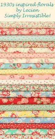 Nós temos estes na loja (tecidos japoneses, lindos, lindos...).