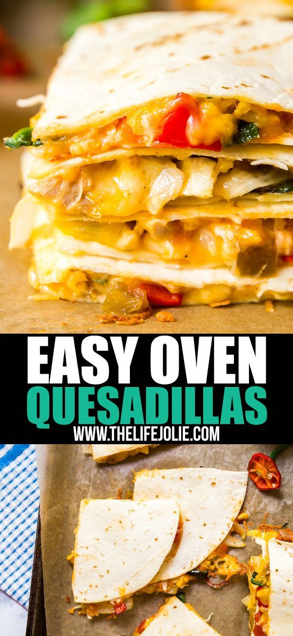 Weeknight Oven Quesadilla images