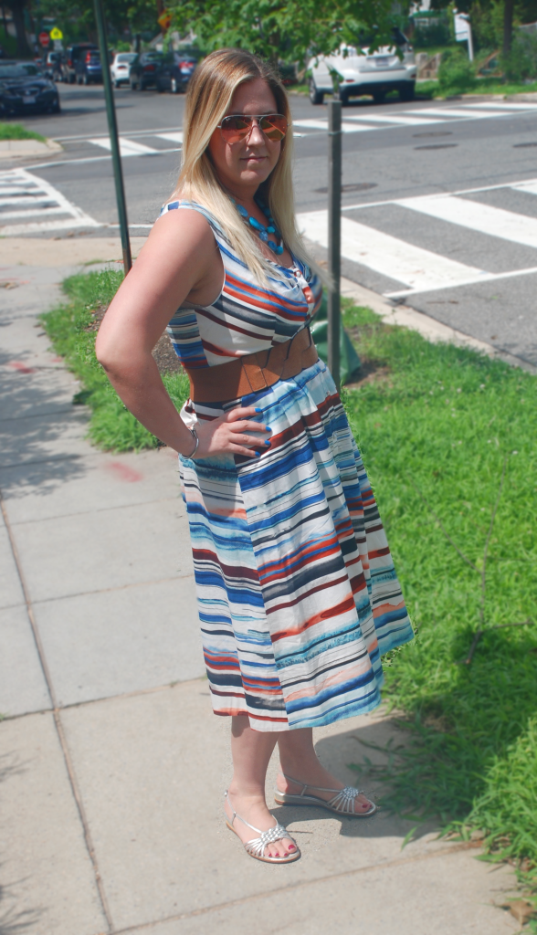 Anthropologie dress plus holiday style tips!