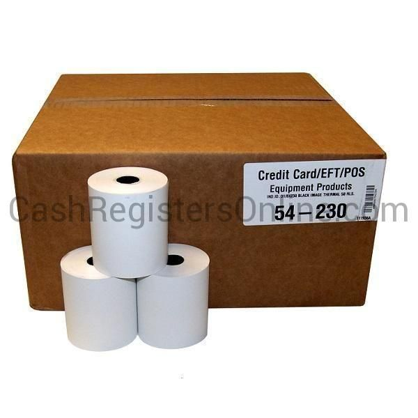 3 1/8'' x 230' Thermal Paper Rolls