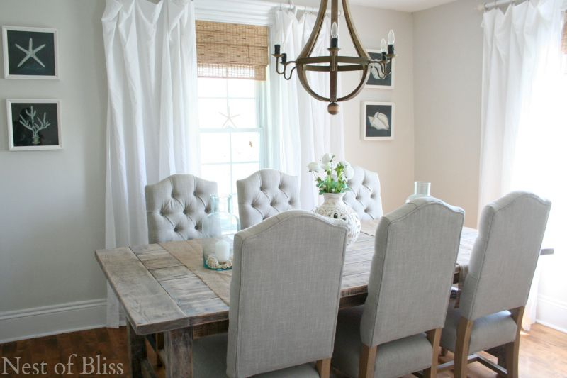 Rustic Farmhouse Table How I Found My Style Sundays Nest Of Bliss