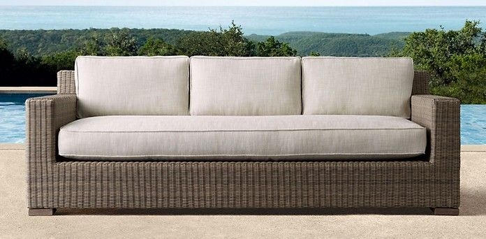 Biscayne Grey Restoration Hardware Restoration Hardware Porch Furniture Furniture