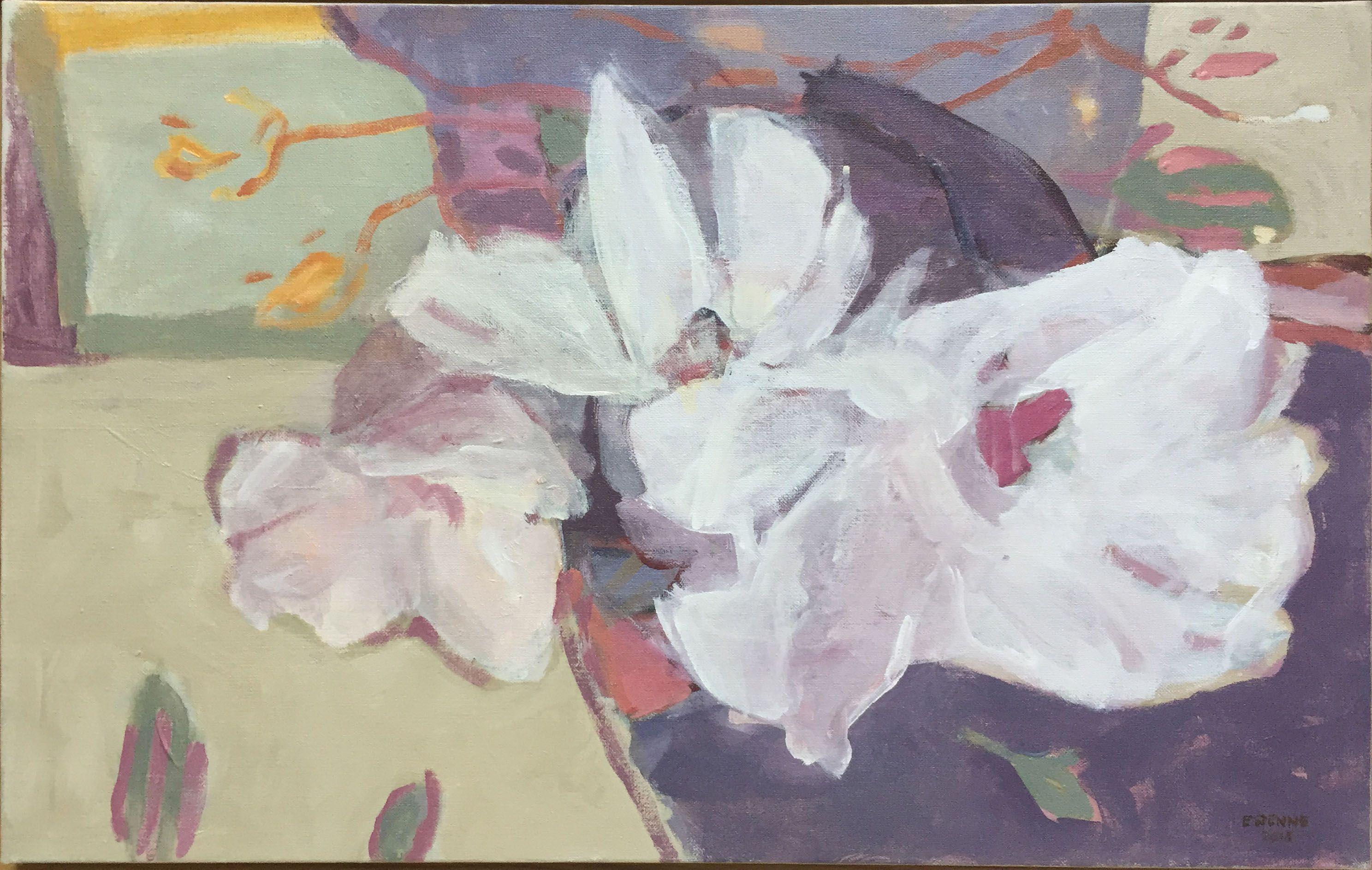 Elisabeth Stenne Galerie Francoise Durst Peinture Fleurs