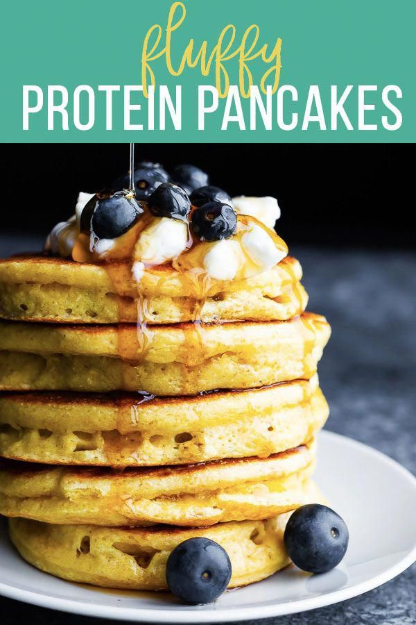 Protein Pancakes #proteinpowderpancakes