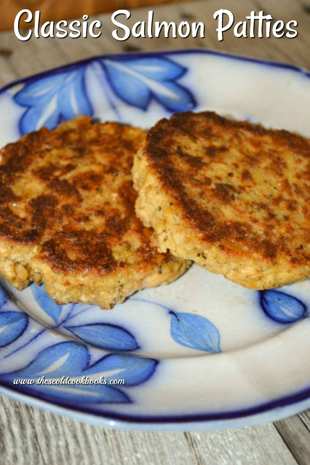 Classic Salmon Patties Recipe with Canned Salmon