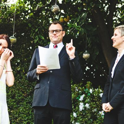 10 Blunt But Loving Ways To Tell People They Re Not Invited To Your Wedding Offbeat Bride Wedding Ceremony Script Wedding Officiant Script Wedding Script