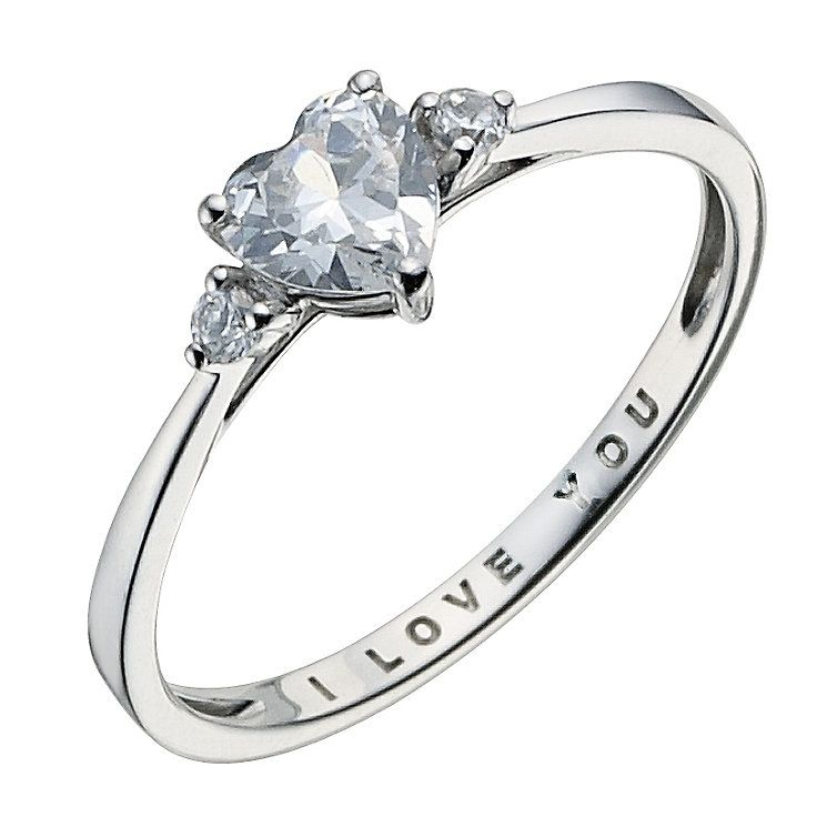 I Love You Wedding Rings at Exclusive Wedding Decoration and