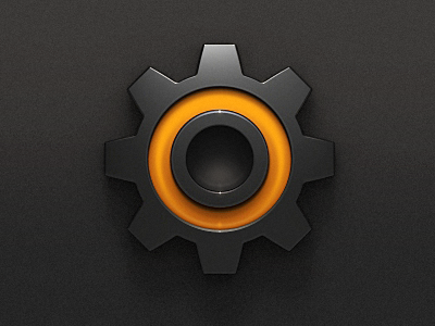 Settings App icon design, Icon design, Game icon