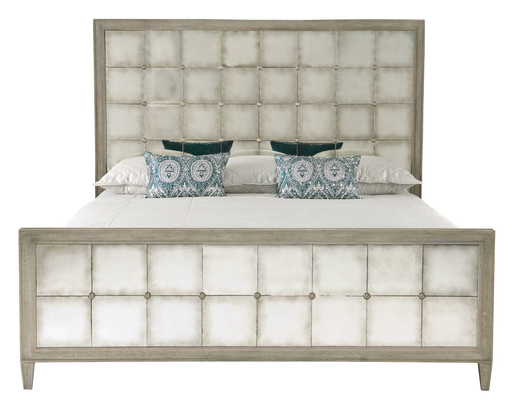 359 H 06 F06 R06 Marquesa Mirrored Bed - Bernhardt King $4710