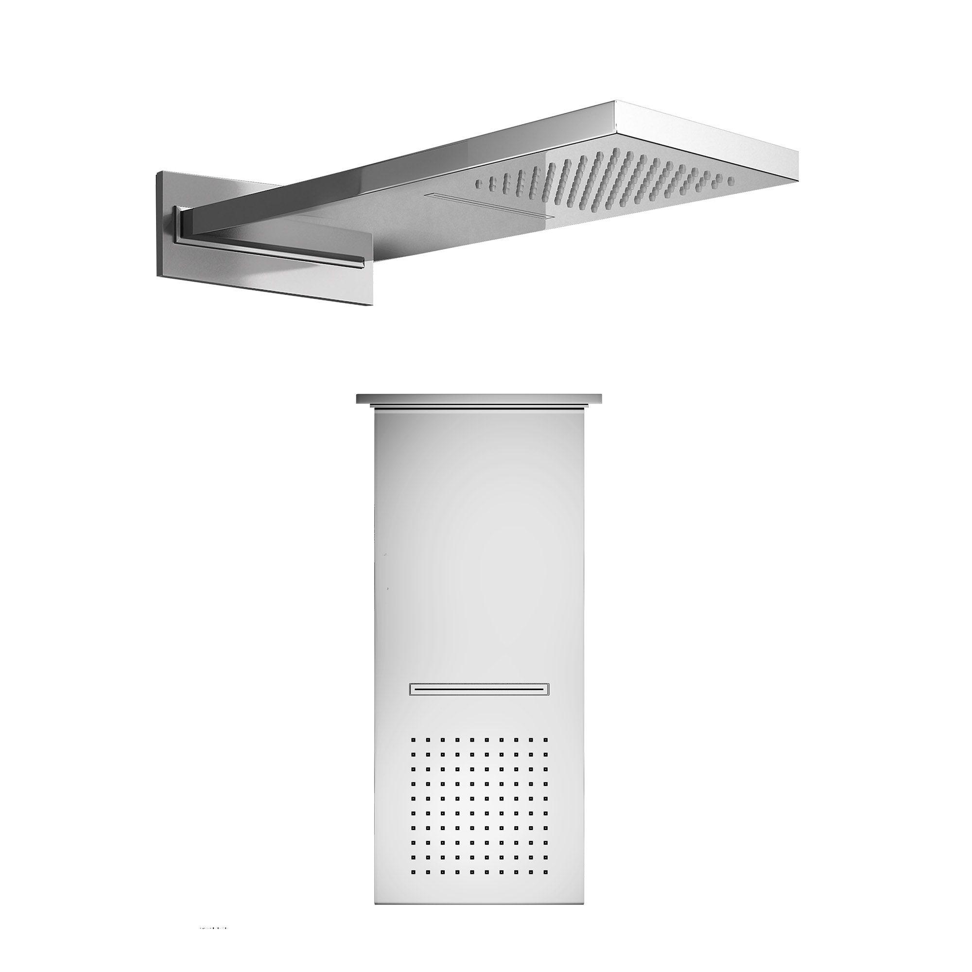 230x550mm-chrome-plated-brass-waterfall-shower-head-finest-range ...