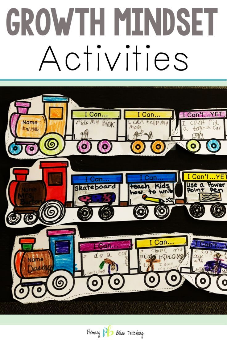 Growth mindset activities and lessons growth mindset