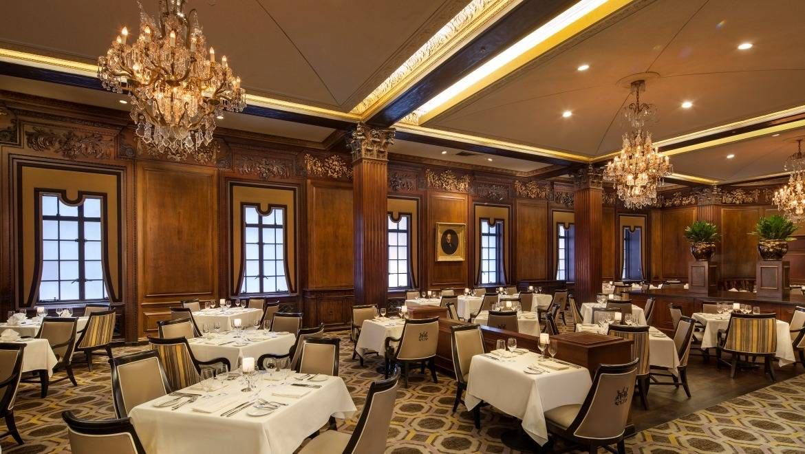 Omni Parker House Parker's Restaurant claims to have