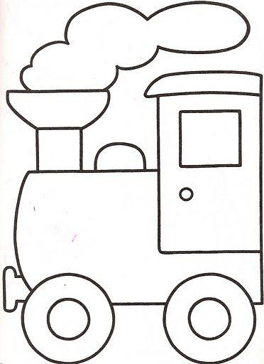 Mi colección de dibujos: Dibujos de trenes para pintar | cuarto bebe ...