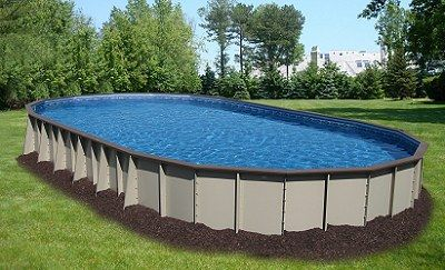 Ultimate Above Ground Pool Oval Shape Swimming Pools Pool