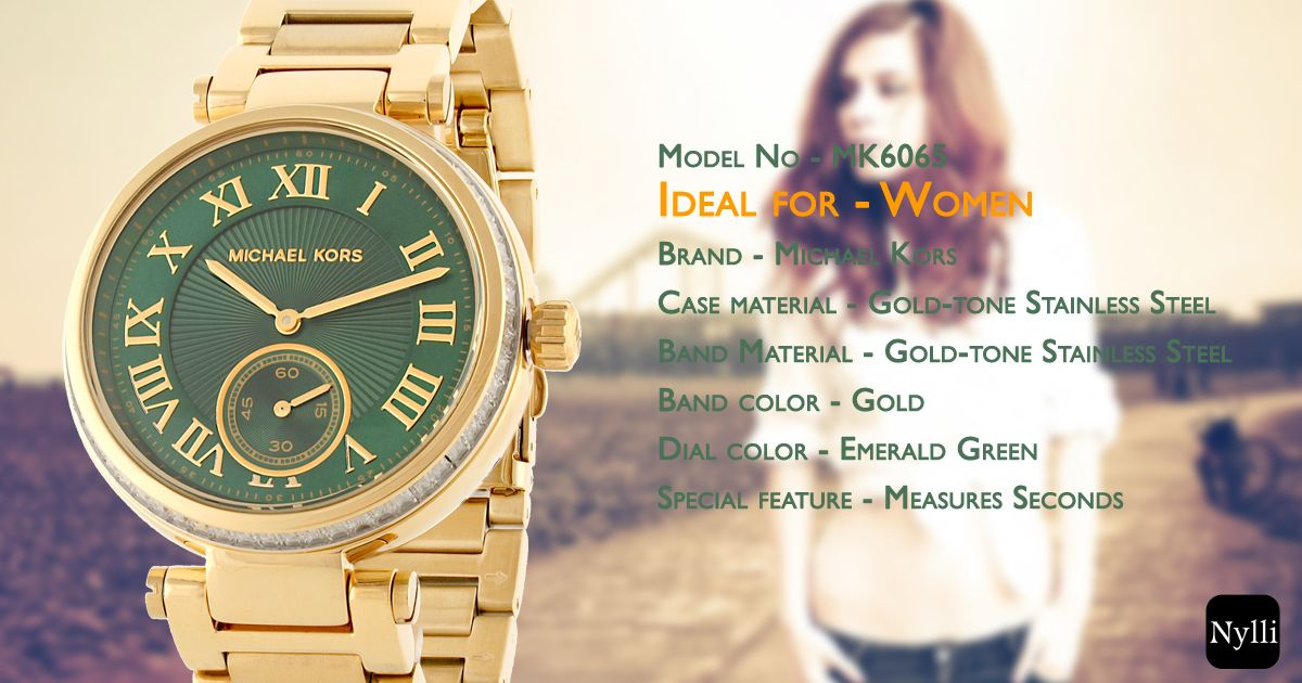 Its a jewel for your wrist!  ‪#‎womenswatch‬ ‪#‎Luxurywatch‬ ‪#‎MichaelKors‬ ‪#‎fashion