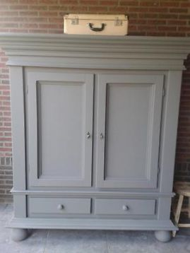Kast Verven Painted Furniture In 2019 Kast Verven Kast