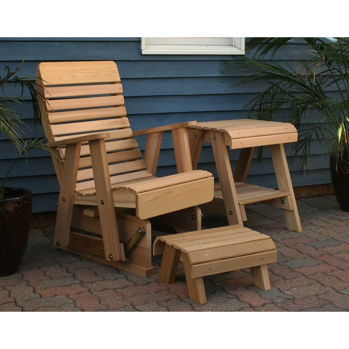 Creekvine Designs Rocking Glider Chair Set Diy outdoor