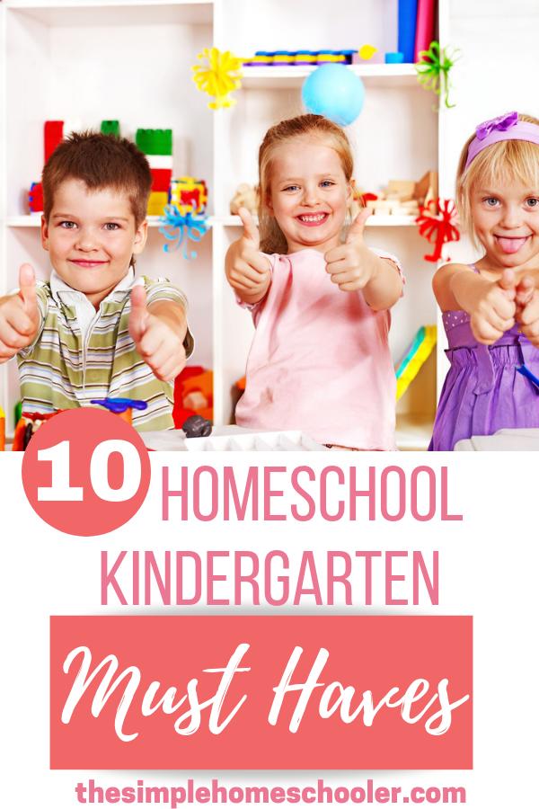 Photo of 10 Homeschool Kindergarten Must Haves
